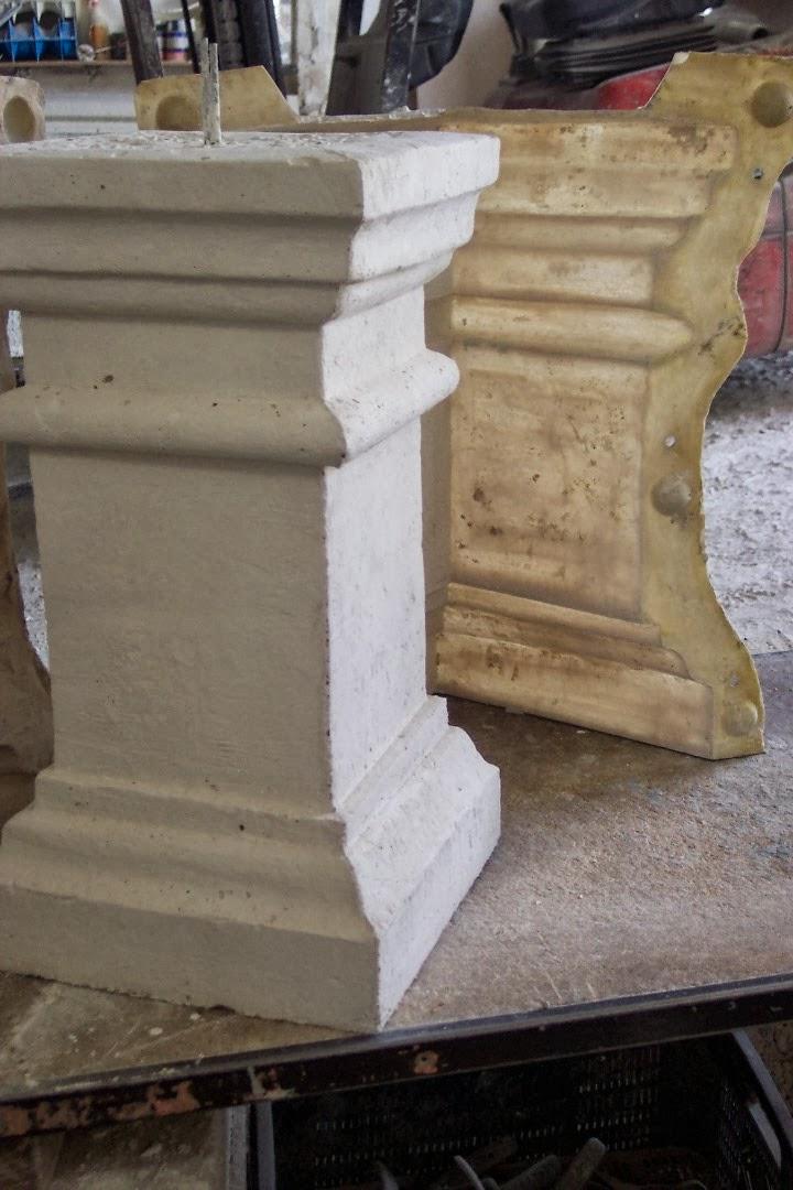 Moldes para balaustras de piedra artificial alfredo - Moldes piedra artificial ...