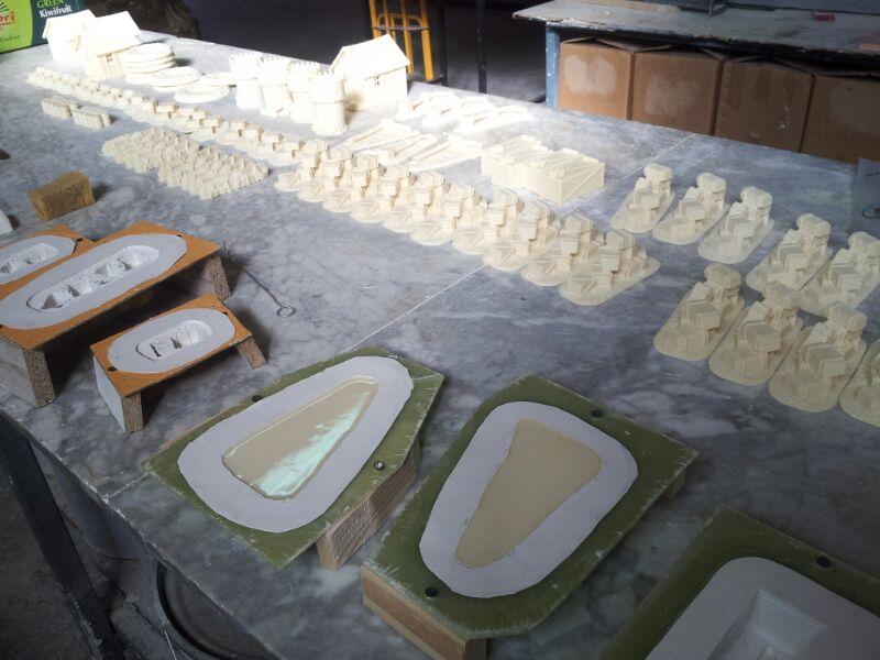 Silicone molds for miniatures alfredo bueno moldes - Silicona de poliuretano ...